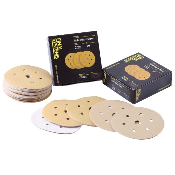 SBS-BS04-SANDING DISCS-150MM