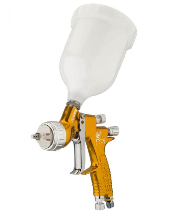 ST-T17-DEVILBISS GTI PRO LITE SPRAY GUN-GOLD